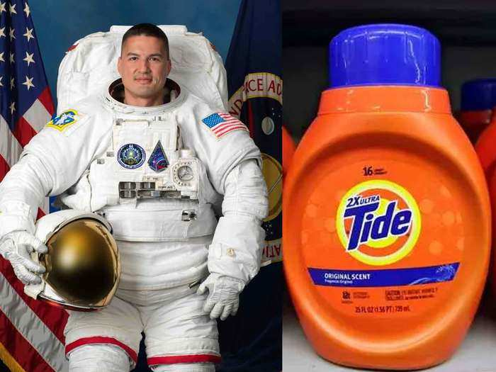 nasa is working with tide to make first laundry detergent for astronauts in space