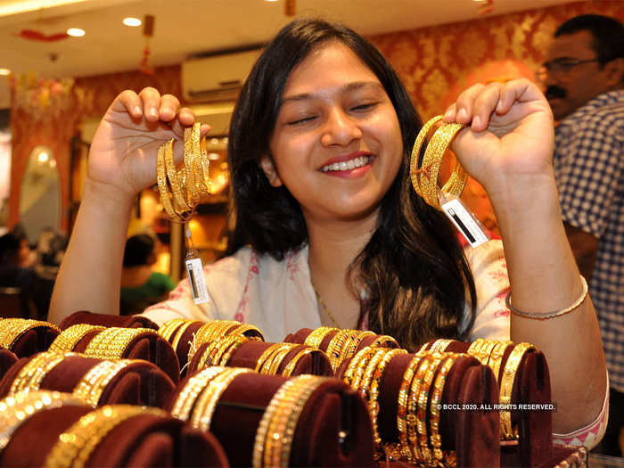 gold & silver price today: gold gains rs 110, silver climbs rs 324
