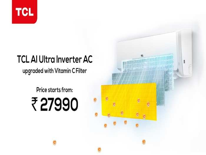 TCL New AC With Vitamin C Filter Price Features India