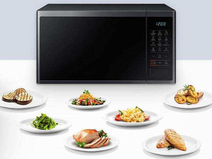 कम तेल और घी के साथ जंक फूड को हेल्दी तरीके से बनाते हैं ये Microwave Oven