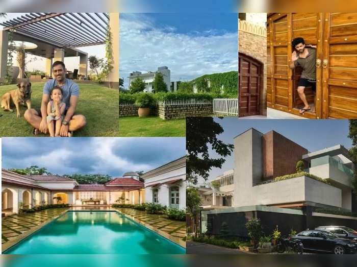 Team India Player Houses
