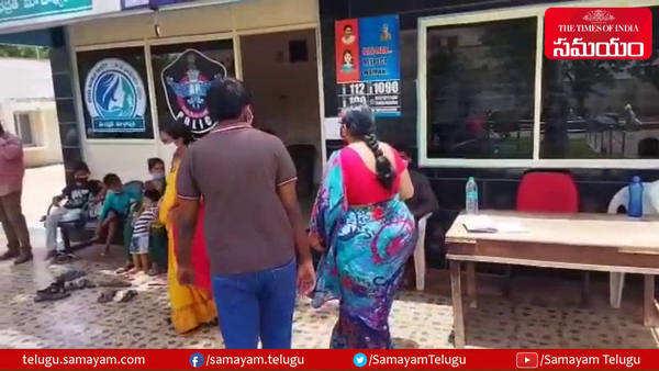 nellore vikrama simhapuri university professor harassing wife and son