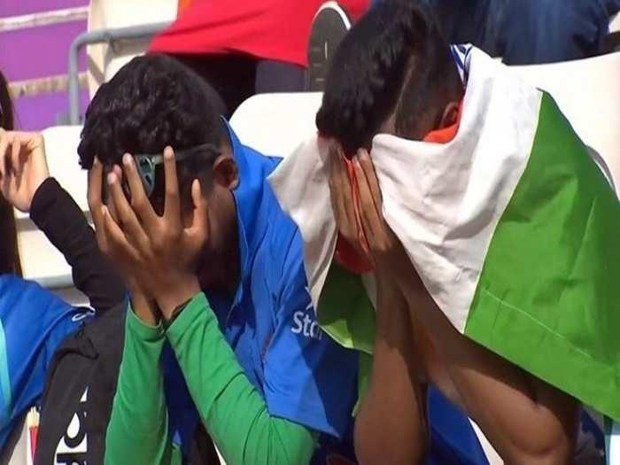 Indian fans after wtc final defeat