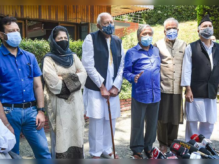 काय असेल जम्मू काश्मीरचं भवितव्य? आज पंतप्रधानांसोबत गुपकारची चर्चा