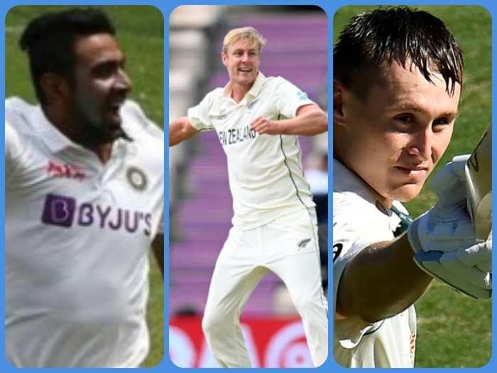 ravichandran ashwin, maruns labuschangne, be stokes, joe root shine in the icc world test championship