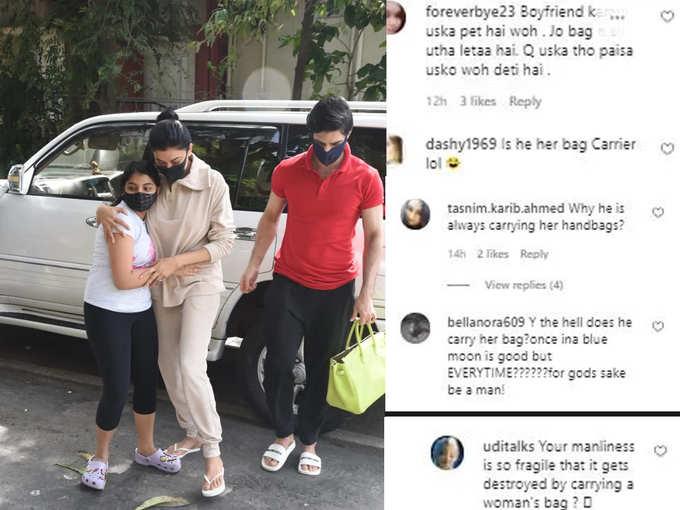 Rohman was spotted carrying Sushmitas handbag
