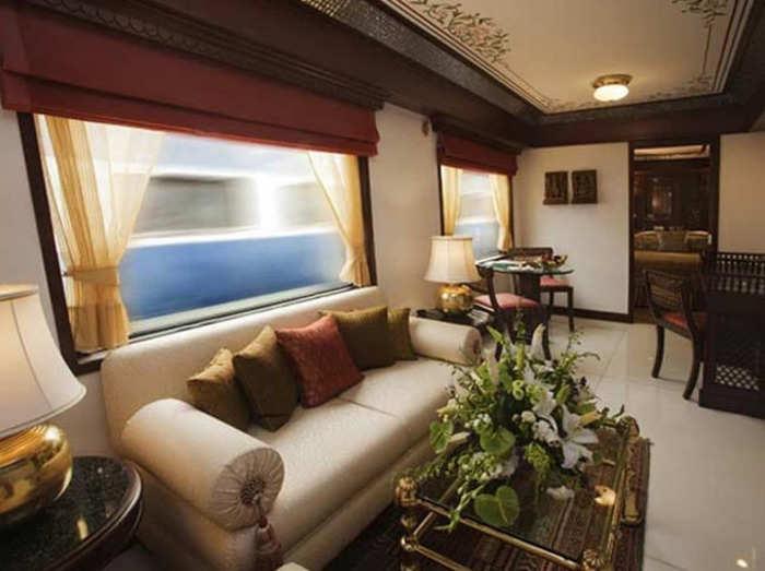 photos of presidential suite of maharaja express preparing for president ramnath kovind