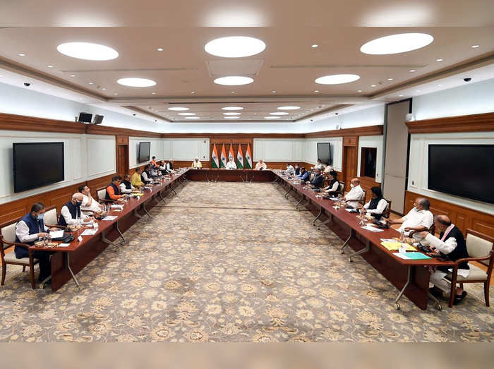 Prime Minister Narendra Modi holds meeting with Jammu and Kashmir leaders in Delhi