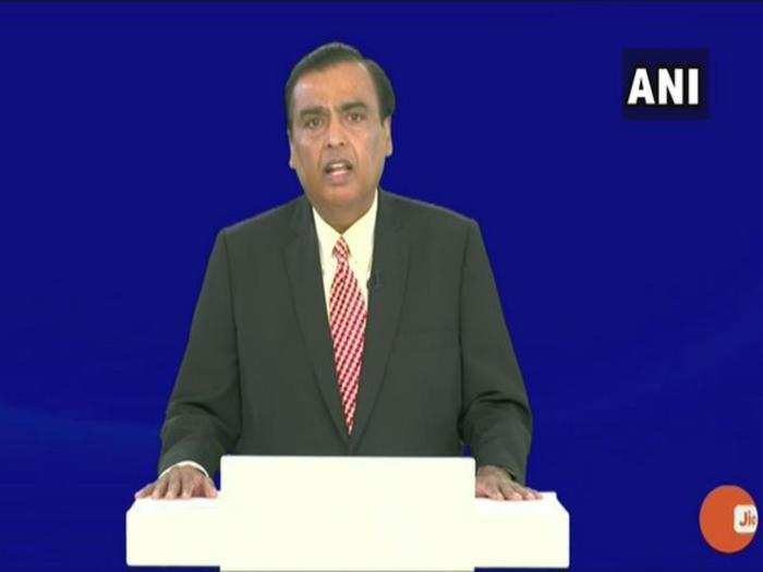 reliance industries agm 2021, key announcements of reliance 44th annual general meeting