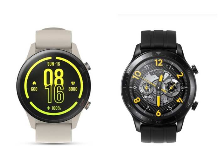 cheapest smartwatch under 10000 mi watch revolve active vs realme watch s pro know which option is better
