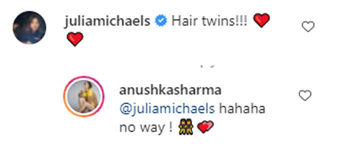 Julia Michaels commented on Anushka's picture