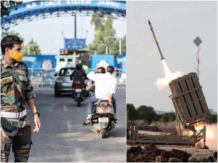 jammu terror attack news 1st drone strike on army, india needs air defence system like iron dome