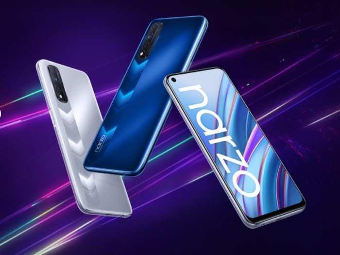 Realme Narzo 30 4G First Sale