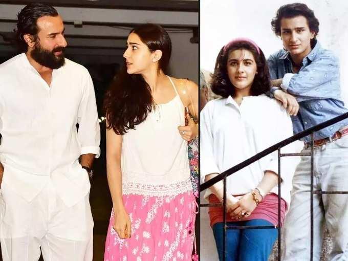 saif ali khan and sara ali khan relationship: 'मला वडिलांमध्ये आईसारखी माया दिसली नाही' वडिलांबाबत असं का म्हणाली सारा अली खान?, विभक्त झालेल्या पालकांची अशीच होते अवस्था?