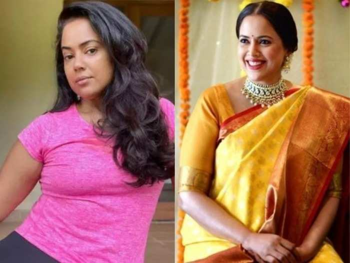 sameera reddy shares her weight loss tips says yoga and badminton helped in fitness