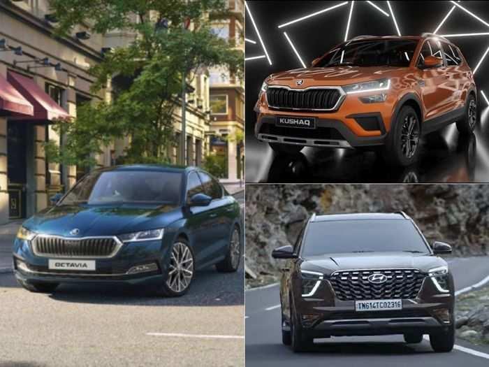 hyundai alcazar to skoda kushaq to 2021 skoda octavia here are latest cars in june 2021