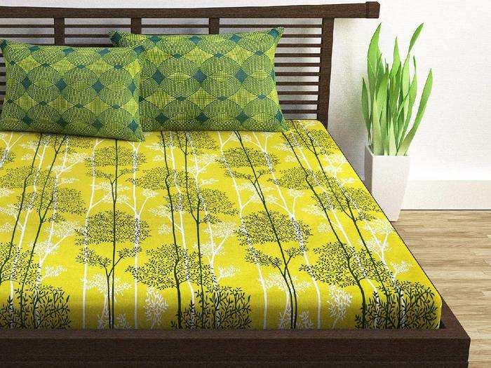 Cotton Bedsheets : बेहद सॉफ्ट और कंफर्टेबल हैं ये 100% कॉटन की Bedsheets, मात्र 539 रुपए से शुरू है कीमत
