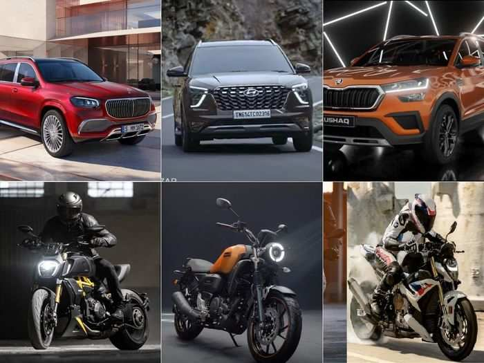 here are list of all latest car and bike that launched in june 2021 in india