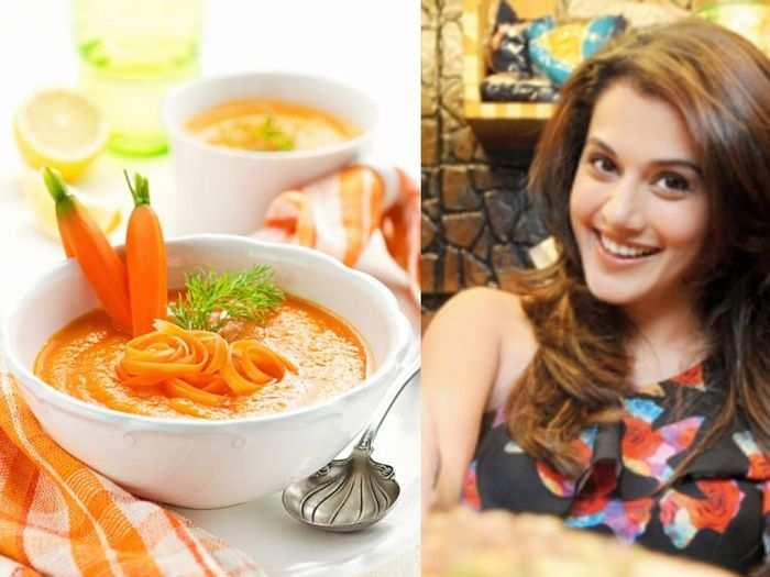 turmeric ginger soup is a best immunity booster during covid 19 monsoon as per taapsee pannu nutritionist