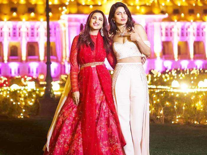 parineeti chopra looks drop dead gorgeous as sister of the bride for priyanka chopra and nick jonas wedding