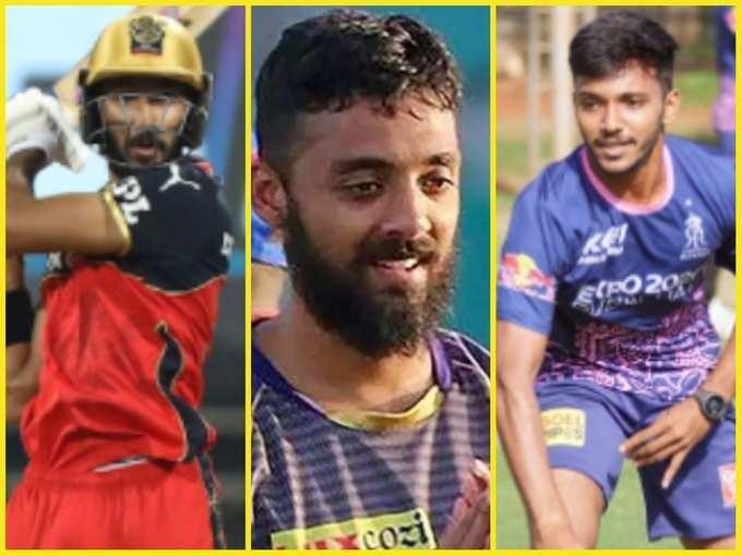 भारतीय स्क्वॉड में कई नए चेहरे