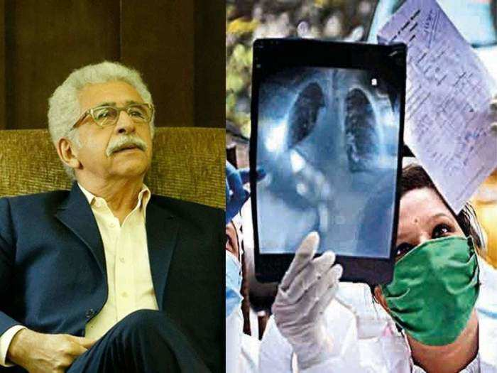 due to these symptoms of pneumonia naseeruddin shah has to be admitted in hospital