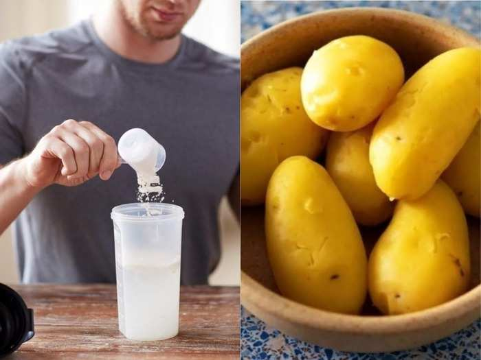 potato and rice protein shakes may help manage blood glucose level better than whey protein