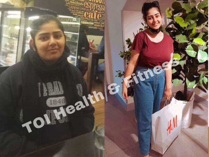 by daily walking and cycling and skipping chapati from diet she lost 16 kg in just 2 months