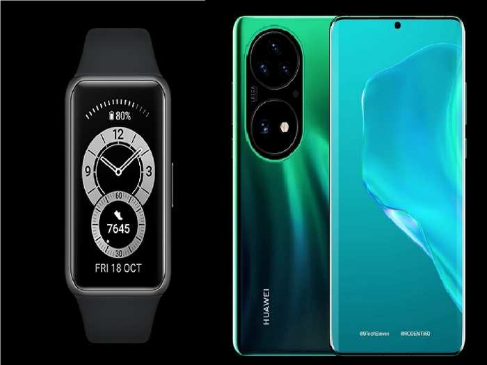 Huawei P50 series and Huawei Band 6 Pro launch price Specs