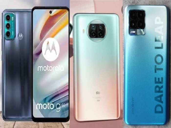 108 MP camera smartphone under 20000 in india Mi Realme Motorola