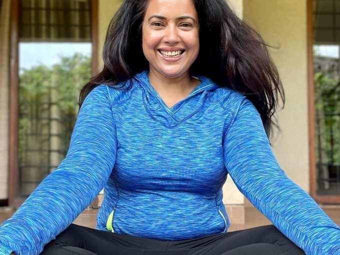 yoga poses for weight loss step by step beginners: Weight Loss : सुप्रसिद्ध अभिनेत्रीही लठ्ठपणापासून करू शकली नाही स्वत:चा बचाव, 105 वर पोहचलेल्या वजनाला इतक्या कुल पद्धतीने केलं बाय बाय!
