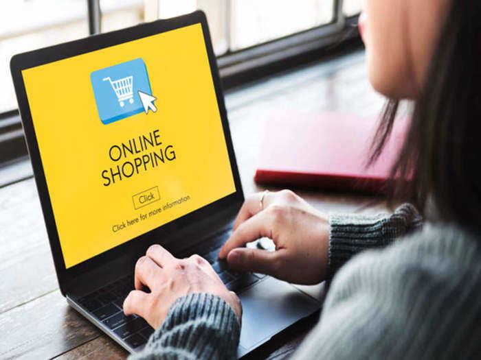online shopping.
