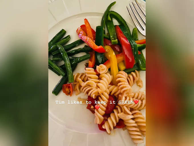 Pasta Cooked By Taimur