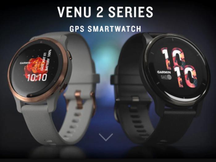 Garmin Venu 2 series smartwatches