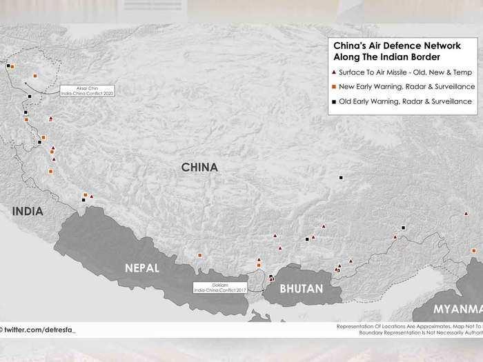 मिसाइल, रेडार, फाइटर जेट...चीन ने लद्दाख से लेकर अरुणाचल तक बनाए 35 हवाई किले