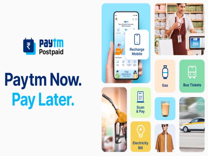 Paytm Postpaid Mini Service