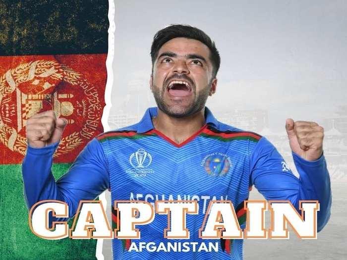 rashid khan captain