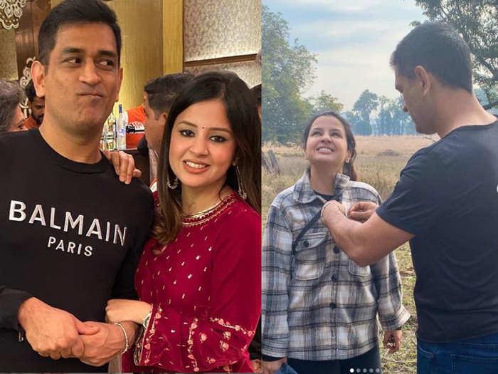 ms dhoni celebrates 40th birthday see cricket hot couple mahi and sakshi popular photos from social media