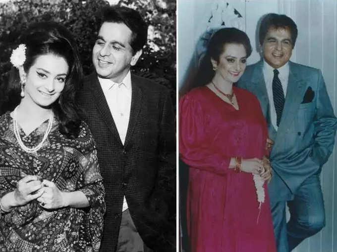 Dilip Kumar and Saira Banu got married