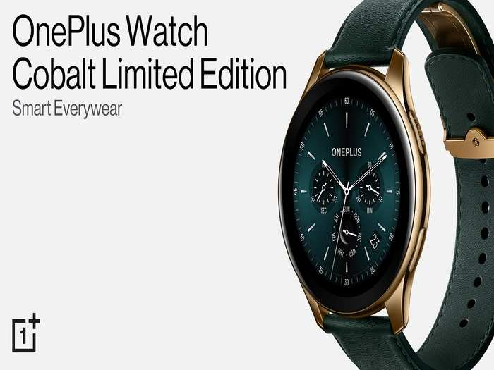 OnePlus Watch Cobalt Limited Edition launch price Specs