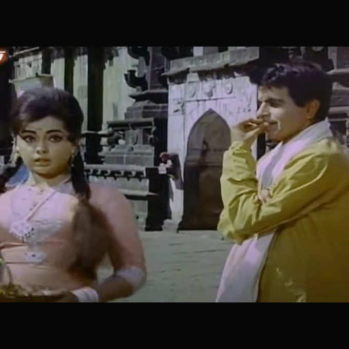 Mumtaz-Dilip in Ram Aur Shyam, Photo: YouTube