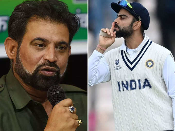 Virat Kohli and Chetan Sharma have a fight on Easwaran, captain and selector have been face to face before