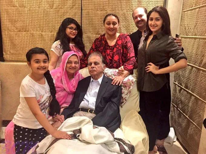Dilip Kumar Family Photo