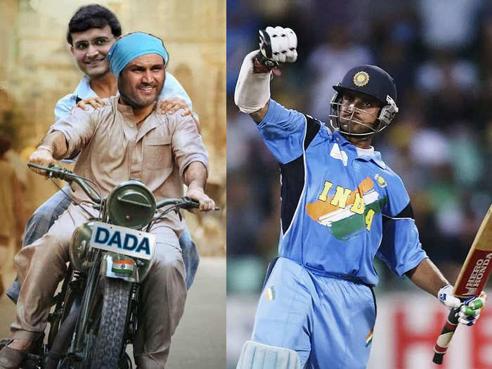 virender sehwag suresh raina mohammad kaif wasim jaffer and others lead wishes as sourav ganguly turns 49