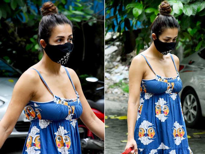 डीप नेकलाइन ड्रेस में मलाइका अरोड़ा का सिजलिंग अवतार, एक बार तस्वीरें देख मन नहीं भरेगा