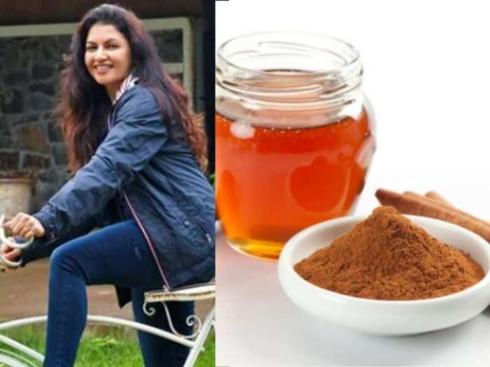 bhagyashree tells a cinnamon honey recipe to reduce high blood pressure on instagram health tips