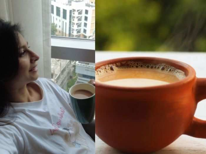tanisha mukherjee always having a cup of tea after meal but chay is good or bad after lunch