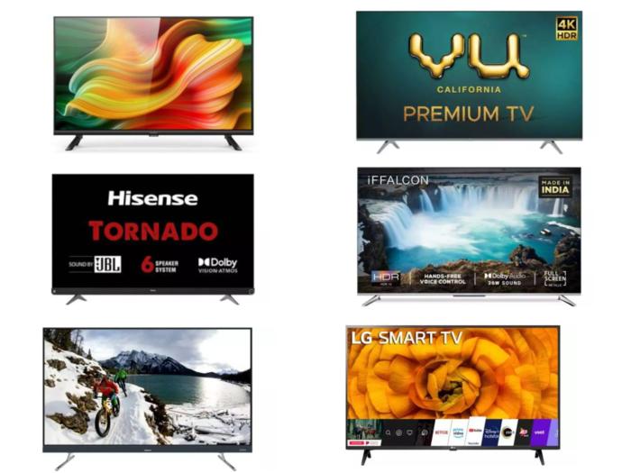 Flipkart Electronics Sale Up to 65% discount on smart TVs