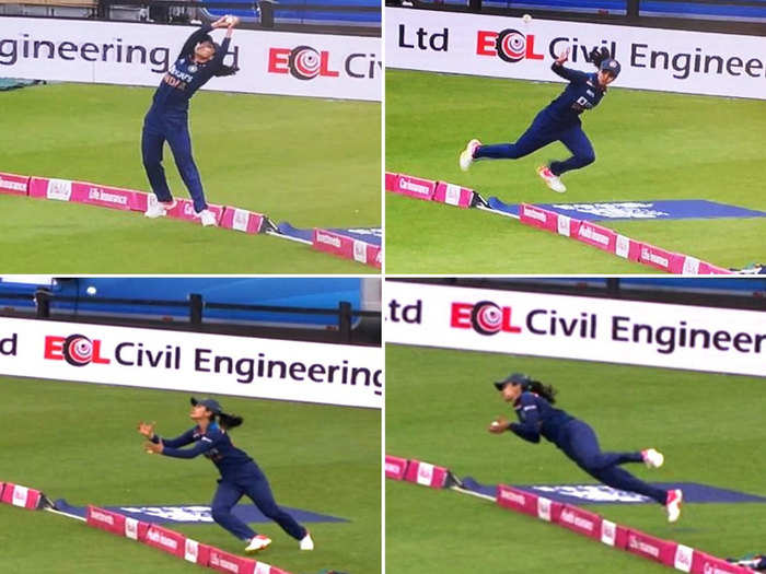 sachin tendulkar to vvs vvs laxman watch cricketers twitter reaction on harleen deol sensational catch