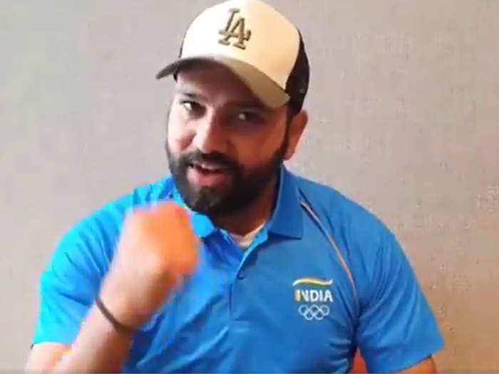 ओलिंपिक ऐथलीटों को टीम इंडिया का सपोर्ट, वीडियो में यूं चीयर करते दिखे विराट, रोहित और मिताली